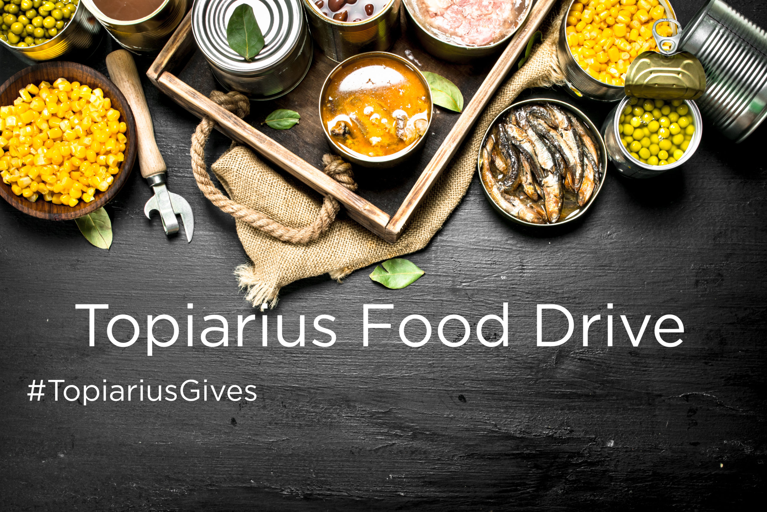 Topiarius Food Drive